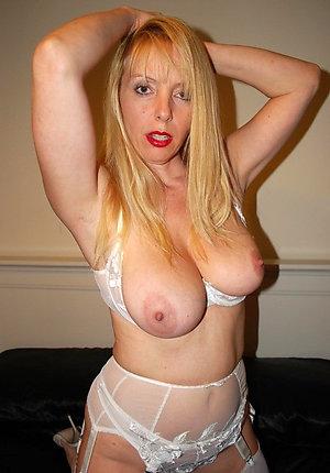 Stunning older women in lingerie