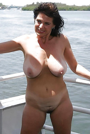 Homemade beautiful older naked women