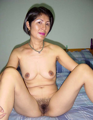 Real mature asian babe