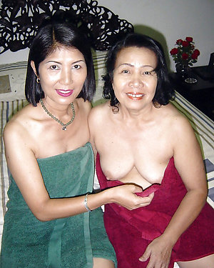 Sexy mature asian granny pics