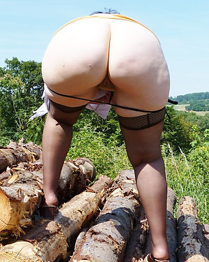 Horny old women asses