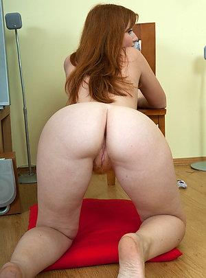 Sexy bubble butt mature
