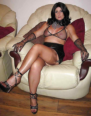 Naughty sexy mature lingerie pics