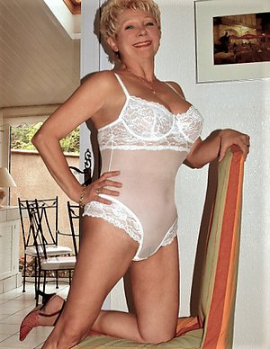 Real erotic mature milf lingerie
