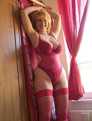 Spectacular mature lingerie fuck
