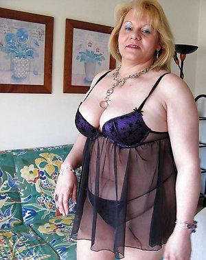 Marvelous mature women wearing lingerie porn