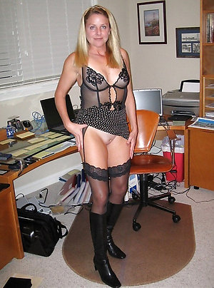 Naked older mom sexy lingerie