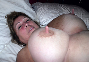 Slutty mature wife big nipples pic
