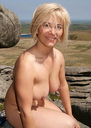 Sexy natural mature nipple pics