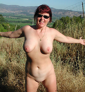Naked beautiful ladies on the nature