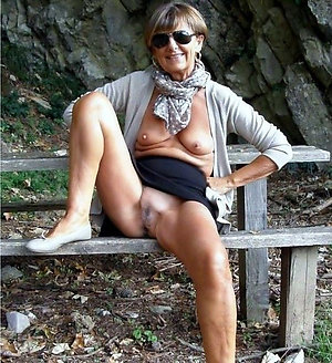 Sexy mature slutty women on the nature