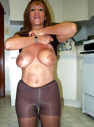 Handsome mature pantyhose amateur pic