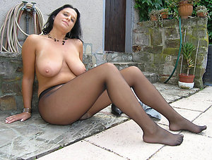 Fantastic amateur matures in pantyhose