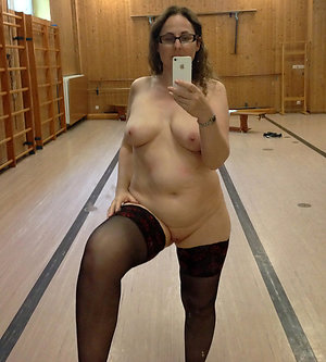 Real old nude girls sexy selfie