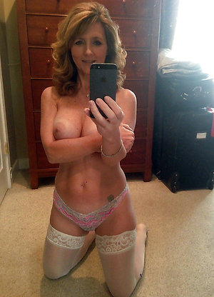 Selfie mature ladies stripping