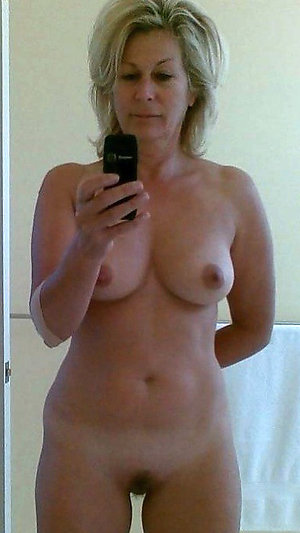 Selfie older wives posing nude