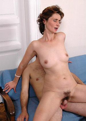 Naughty sex with mature women