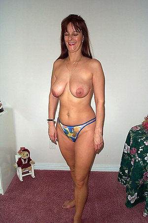 Crazy older women wearing panties