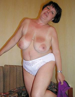 Beautiful older women in sheer panties
