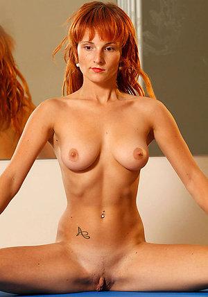 Hotties mature redhead women posing nude