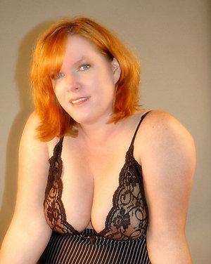 Pretty mature redhead sex stripped