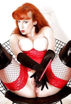 Pretty mature redhead love porn