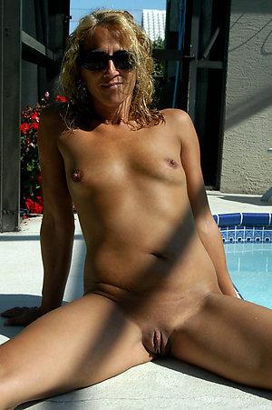 Pretty naked skinny mature women