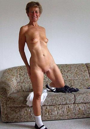 Sweet skinny mature women nude