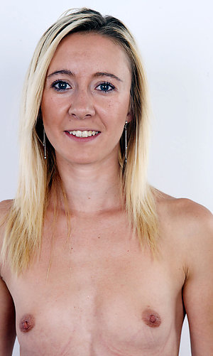 Nude old women with small tits pics