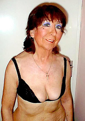 Naughty nude old women small tits
