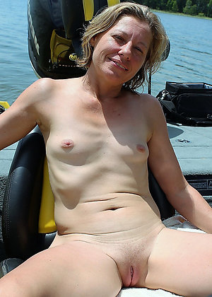 Naked Mature small breast