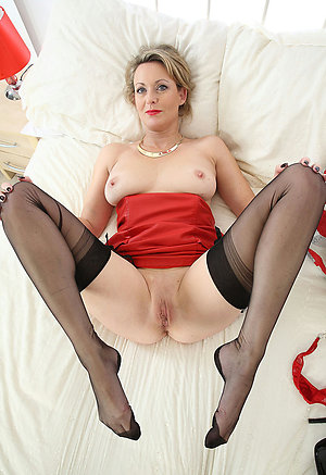 Naked hot women in stockings stripped