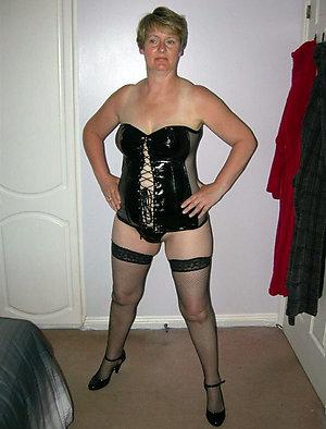 Pretty mature women stockings love porn