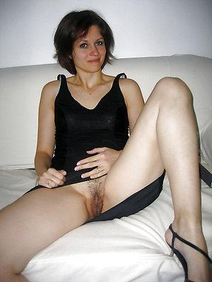 Busty mature upskirt no panties