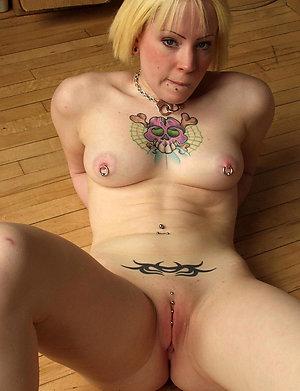 Cool hot mature tattooed women