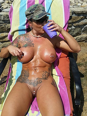 Real hot tattoo mature porn