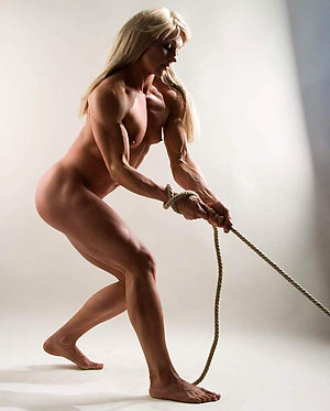 Porn pics of mature female muscle