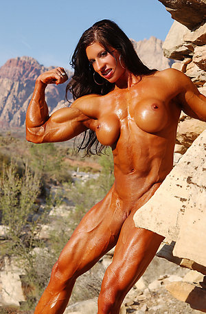Fantastic mature muscle women nude pics