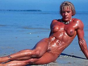 Horny amateur mature muscle sex
