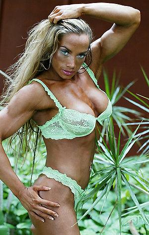 Amazing nude female muscle sluts