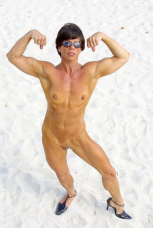 Nude hot mature muscle women