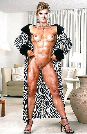 Amazing muscle mature women