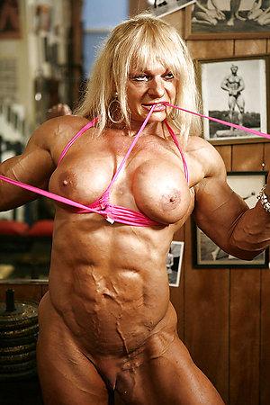 Naked muscle mature women pics