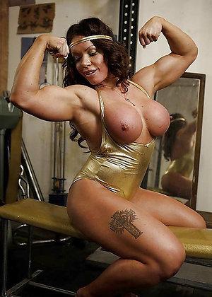 Fantastic mature muscles photos