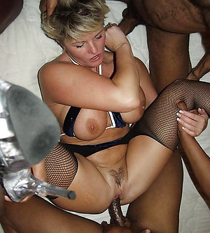 Mature milf amateur homemade threesome