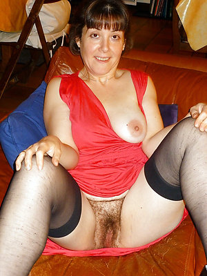 Hot beautiful hairy mature women