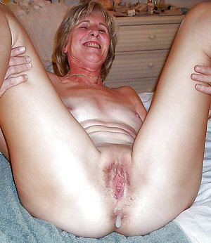 Homemade mature creampies porn