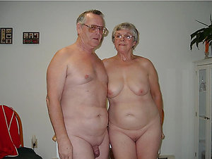 Amateur nude old couples