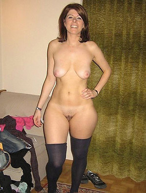 Slutty upfront mature women undecorated photo