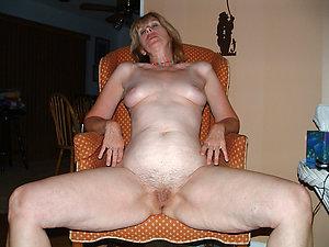 Real natural bare mature body of men